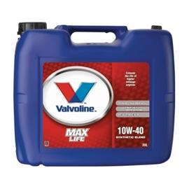 Valvoline MaxLife 10W-40 Moottoriöljy 20.0 l Kanisteri