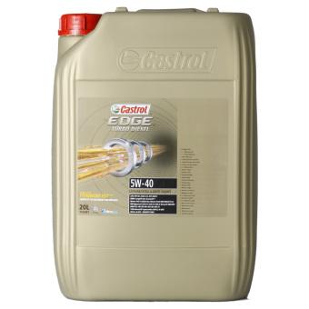 Castrol EDGE Titanium FST Turbo Diesel 5W-40 20.0 l Kanisteri