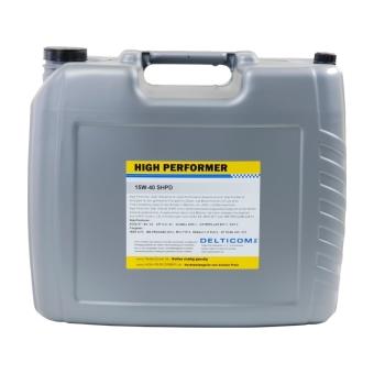 High Performer 15W-40 SHPD Hyötyajoneuvojen ympärivuotinen öljy 20.0 l Kanisteri