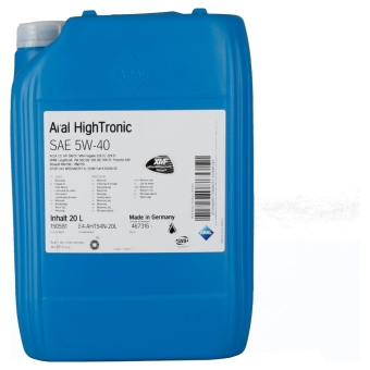 Aral HighTronic 5W-40 20.0 l Kanisteri