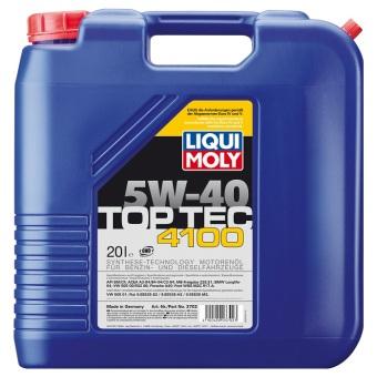 Liqui Moly TOP TEC 4100 5W-40 20.0 l Kanisteri