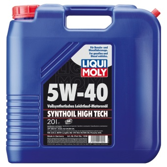 Liqui Moly SYNTHOIL HIGH TECH 5W-40 20.0 l Kanisteri