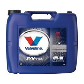 Valvoline SynPower FE 0W?30 Moottoriöljy 20.0 l Kanisteri