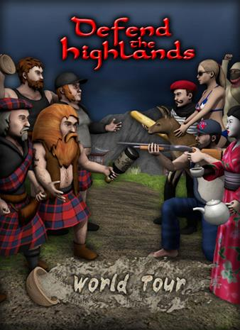 Defend the Highlands: World Tour, PC -peli
