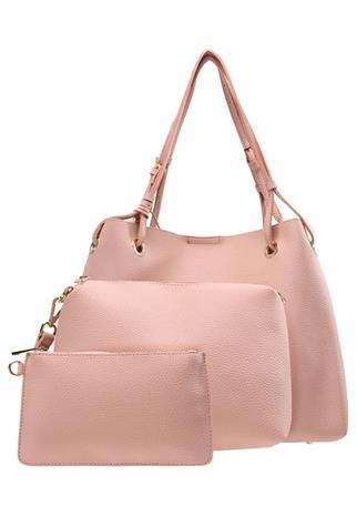 Buffalo SET Shopping bag pink