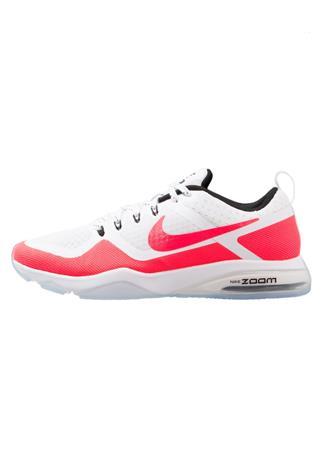 Nike Performance AIR ZOOM FITNESS Kuntoilukengät white/solar red/black