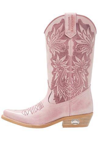 Kentucky's Western Biker/cowboysaappaat tequila rosa