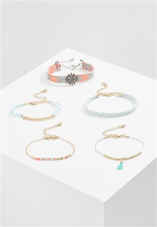 Miss Selfridge FRIEND MIX 5 PACK Rannekoru pastel multicoloured
