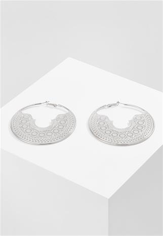 Topshop FILIGREE HOOP Korvakorut silvercoloured
