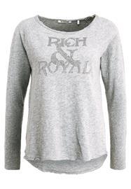 Rich & Royal GLAM Pitkähihainen paita grey melange