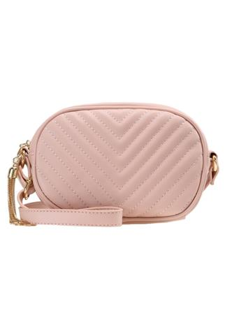 Missguided CHEVRON QUILTED Olkalaukku pink
