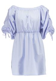 Miss Selfridge BARDOT RUCHED Vapaaajan mekko blue