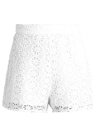 Fashion Union Petite JENKINS Shortsit white