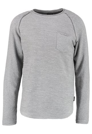 Jack & Jones JORCYCLE CREW NECK REGULAR FIT Collegepaita light grey melange