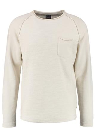 Jack & Jones JORCYCLE CREW NECK REGULAR FIT Collegepaita off white