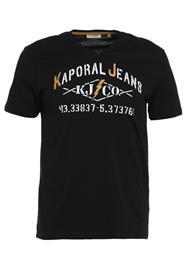 Kaporal MAKAO Printtipaita black