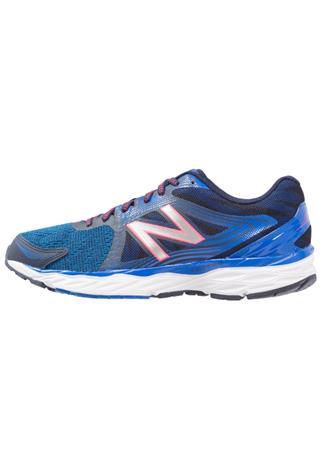 New Balance 680 Juoksukenkä/neutraalit pigment/vivid cobalt/energy red