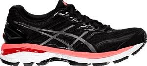 Asics W GT-2000 5 BLACK/CARBON/HOT O