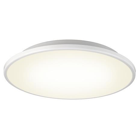 Orsjo Belysning Disc kattovalaisin valkoinen-valkoinen opaalilasi