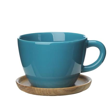 Höganäs Keramik Höganäs teemuki 50 cl merenvihreä kiiltävä