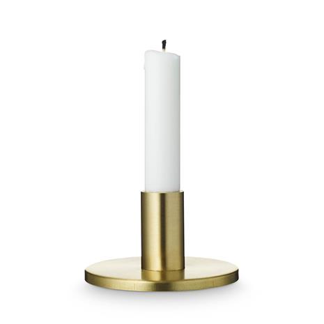 H Skjalm P H Skjalm P pyöreä kynttilänjalka mattamessinki 7 cm