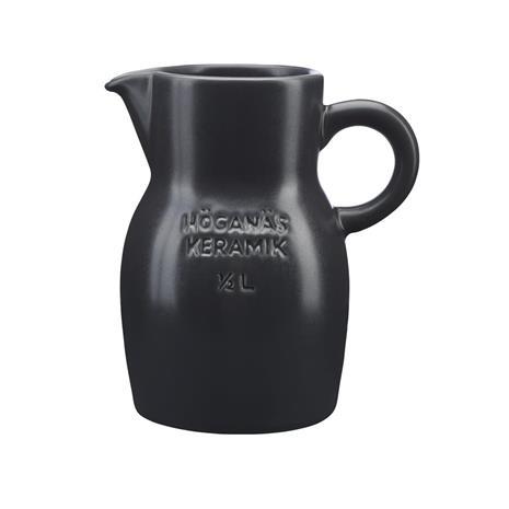 Höganäs Keramik Höganäs kannu 0,5 l grafiitinharmaa, matta