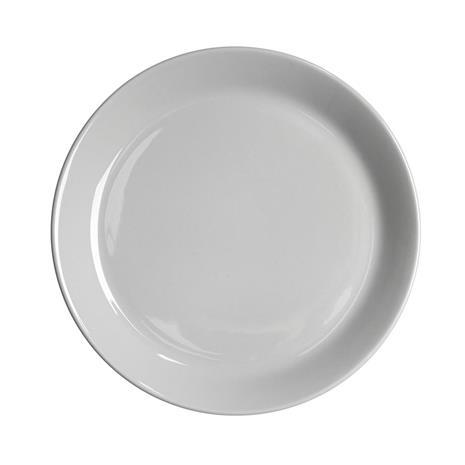 Höganäs Keramik Höganäs lautanen 20 cm vaaleanharmaa kiiltävä