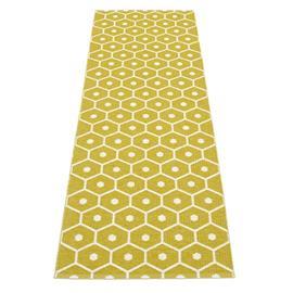 Pappelina Honey matto sinappi-vanilja 70x160 cm