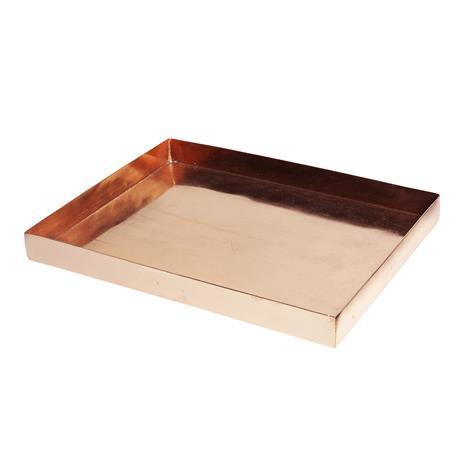 H Skjalm P H Skjalm P tarjotin kupari 24x32 cm
