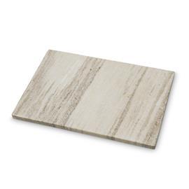 H Skjalm P H Skjalm P koristetarjotin ruskea-valkoinen marmori 24x35 cm