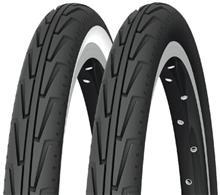 """Michelin City'J renkaat 16"""""""" vaijeri , valkoinen/musta"""