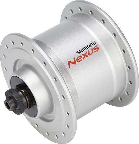 Shimano Nexus DH-C3000-3N napa 3 W vannejarruille/pikalinkuille , hopea