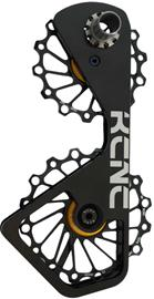 KCNC Jockey Wheel System Cera - Shimano 10S/11S, 14+16T keraamisella pinnalla , musta