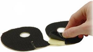 Syntace Velcro Padholder C3 & XXS Aero-ohjaustanko , musta