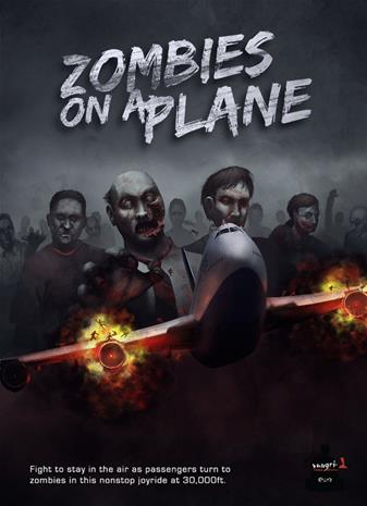 Zombies on a Plane, PC -peli