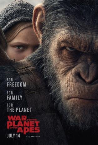 War for the Planet of the Apes (2017, 4k UHD + Blu-Ray), elokuva
