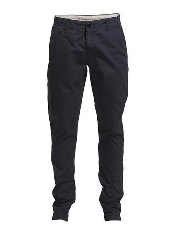 Knowledge Cotton Apparel Twisted Twill Chinos''34 BLUE
