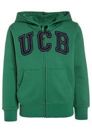 Benetton HOOD Collegetakki green