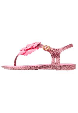 Melissa SOLAR FLOWER Varvassandaalit pink glitter