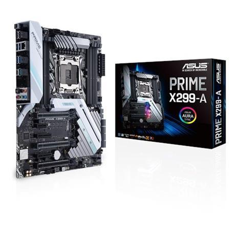 Asus Prime X299-A, emolevy