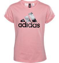 Adidas G YG LOGO TEE TACTILE ROSE