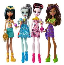 Cleo Frankie Draculaura Clawdeen Ghouls Beast - Monster High