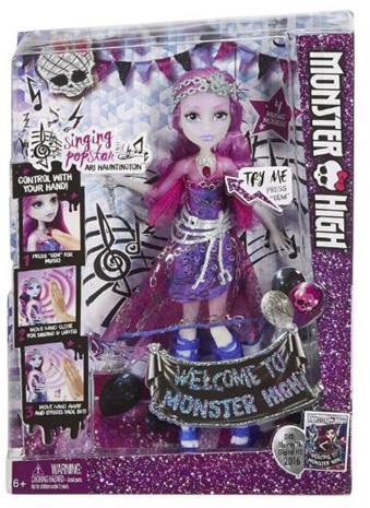 Ari Hauntington - Sjungande Popstar - Monster High docka