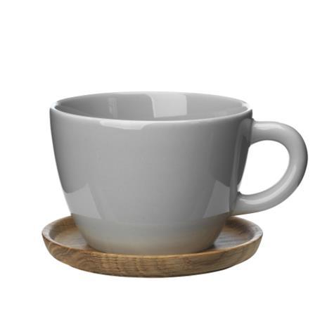 Höganäs Keramik Höganäs teemuki 50 cl vaaleanharmaa kiiltävä