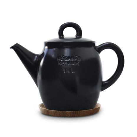 Höganäs Keramik Höganäs teekannu 1,5 l grafiitinharmaa, matta