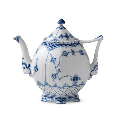 Royal Copenhagen Blue Fluted full lace teekannu 1 l
