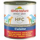 Almo Nature HFC 6 x 280 g / 290 g - nauta & kinkku (290 g)