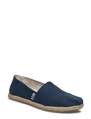 TOMS Navy Washed Canvas Rope S Alpargata NAVY WASHED CANVAS ROPE S