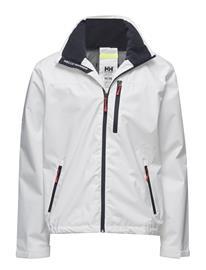 Helly Hansen Crew Hooded Jacket WHITE
