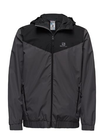Salomon Primary Jkt M FORGED IRON/BLACK